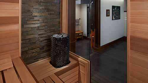 custom-sauna---Western-Red-Cedar---Himalaya-and-rock-wall