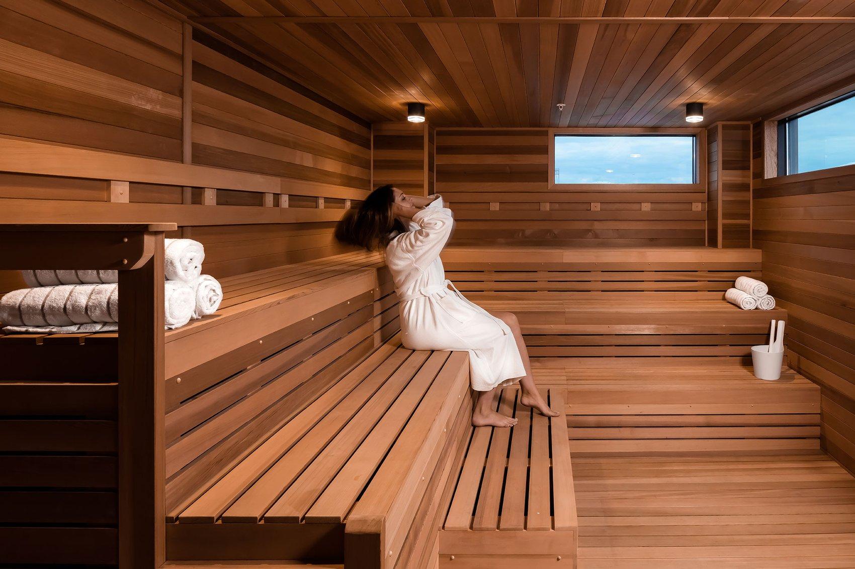 Hewing Hotel Sauna